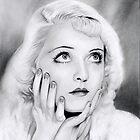 Bette Davis  by Martin Lynch-Smith