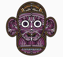 Mr Monkey (Design 1) by mrmoustache