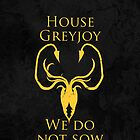 House Greyjoy iPhone Case by Alexandra Grant