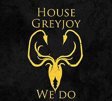 House Greyjoy iPhone Case by Alexandra Grant
