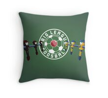 Big League Foosball | Community Throw Pillow