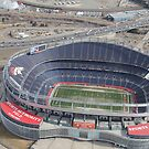 Bird eye view Broncos by DickTracy