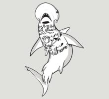 Lil B The Based God Shark by sharkandfriends