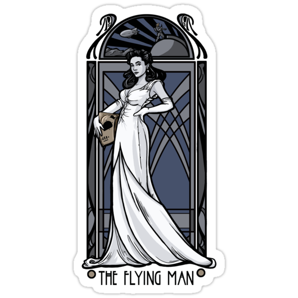 The Flying Man by Karen  Hallion