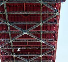 Golden Gate Bridge II by ZWC Photography