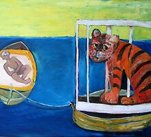 The Captured Tiger by Saren Dobkins
