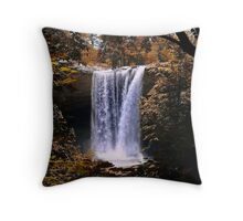 The Falls Of Noccalula Throw Pillow