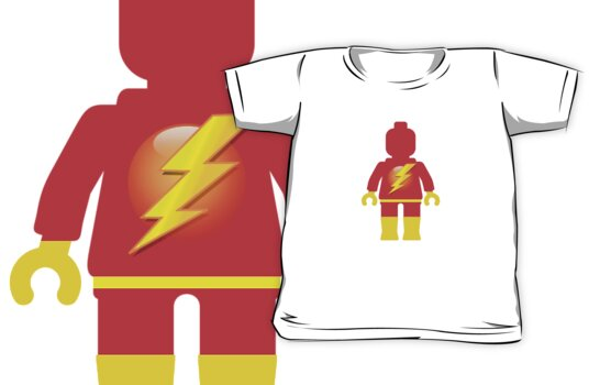 The Flash Minifig by Customize My Minifig by ChilleeW