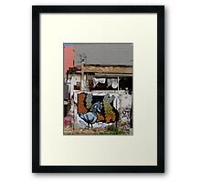 The Backstreets of Barcelona Framed Print
