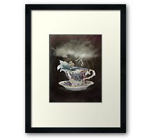 Storm in a Teacup Framed Print