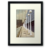 Office Buildings, Brussels Framed Print