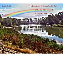 The Rainbow - Covenant - Genesis 9:13 Photographic Print
