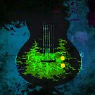 trees on my guitar by marcwellman2000
