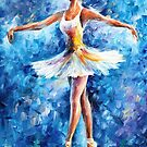 BRAVO- OIL PAINTING BY LEONID AFREMOV by Leonid  Afremov