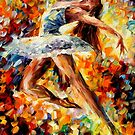 ELEVATION- OIL PAINTING BY LEONID AFREMOV by Leonid  Afremov
