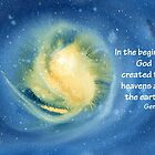 The Beginning- Genesis 1:1 by Diane Hall