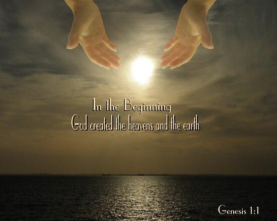 In The Beginning - Genesis 1:1 by judygal
