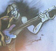 Bass Player by Shane Jahi Jackson