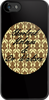 Sherlock Holmes & Doctor Watson - iPhone/iPod version by allie26