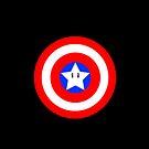 Captain america Mario star  by kevinlartees