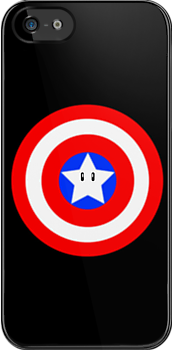 Captain america Mario star  by kevinlartees