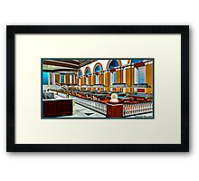 New Light Billiards Framed Print