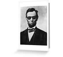 Lincoln's Way Greeting Card