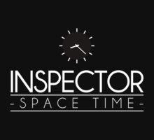 Inspector Spacetime (Minimalism) by albertot