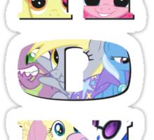 Brony Collage Sticker