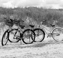 Bikes On The Beach by Cynthia48
