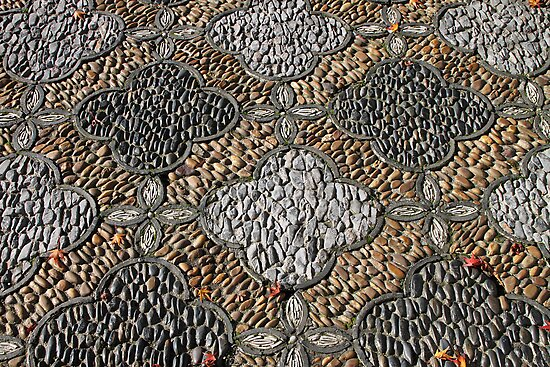 Pebble Path by Carole-Anne