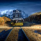 STOP! - Kanmantoo Railway Crossing, The Adelaide Hills, SA by Mark Richards