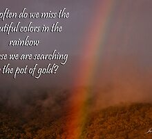 Rainbow or Pot of Gold? by Julia Harwood