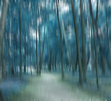 Forrest in Motion, Moscow (blue) by KUJO-Photo