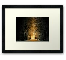 His Glory Framed Print