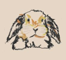 Cute T-shirt Rabbit Jon by Go van Kampen