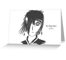 The Gothic Eyes Greeting Card