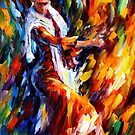 FLAMENCO  DANCER - OIL PAINTING BY LEONID AFREMOV by Leonid  Afremov