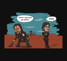 Theon does not sow T-Shirt by Bloodysender
