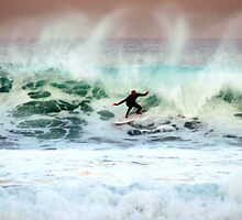 Bells Beach Surfing by amimages