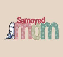 Samoyed Mom by offleashart
