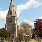 Building, Church, St Peter`s, North Rauceby, Linconshire by Hugh McKean