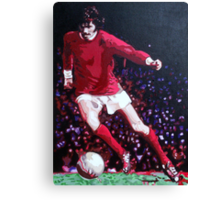 George Best in pop art by db Artstudio Canvas Print