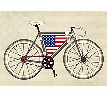 Love Bike, Love America Photographic Print
