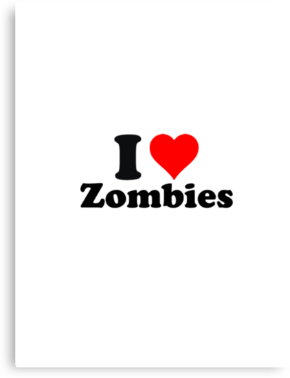 I love zombies (2) by erndub