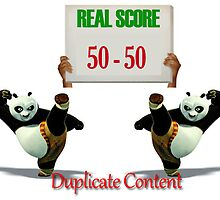 Duplicate Content Equals Low Value by AlGomez