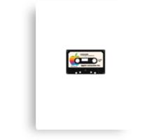 Apple & Lemonade (black) - digitally remastered! Canvas Print
