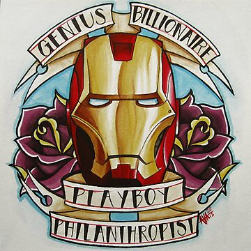 Genius, Billionaire, Playboy, Philanthropist by Alivia Marie