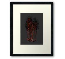 A Crimson Retaliation Framed Print