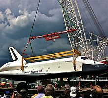 SPACE SHUTTLE ENTERPRISE by cammisacam